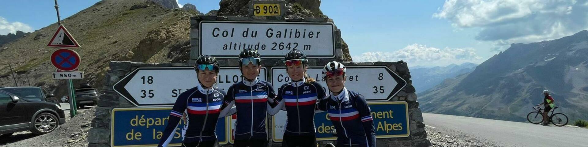 4 espoirs en Stage Equipe de France U23